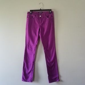 White House Black Market Blanc amethyst jeans NWT